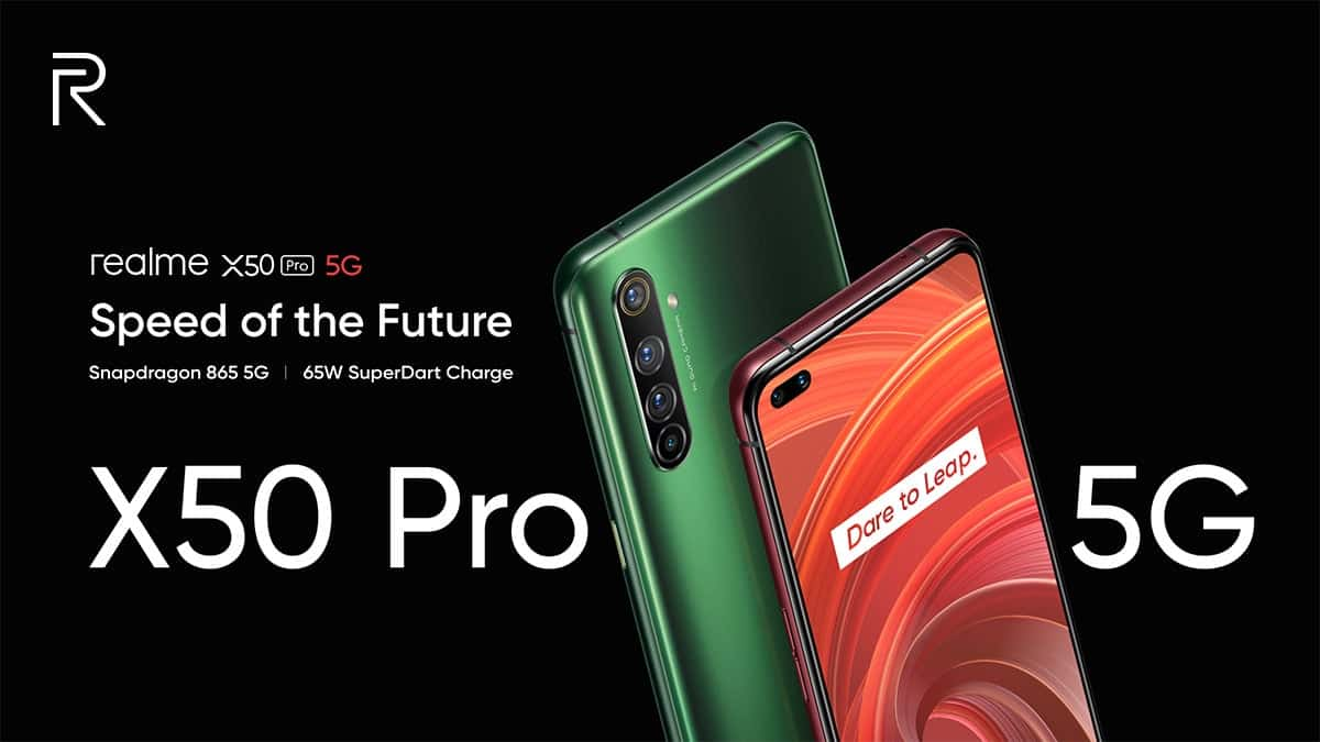 Realme X50 Pro 5G Officially Launched with 90Hz Display and 65W SuperDart Charging - Gizchina.com