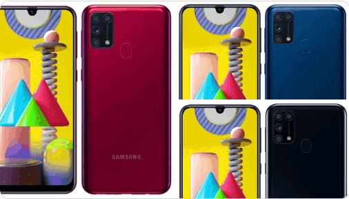 Samsung Galaxy M31 Design