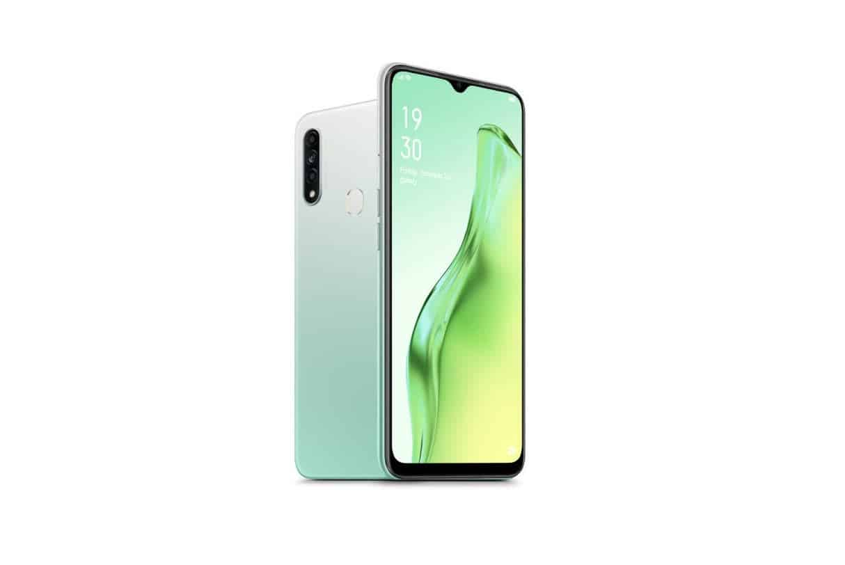 Oppo A31 is launched with triple rear cameras and Helio P35 SoC - Gizchina.com