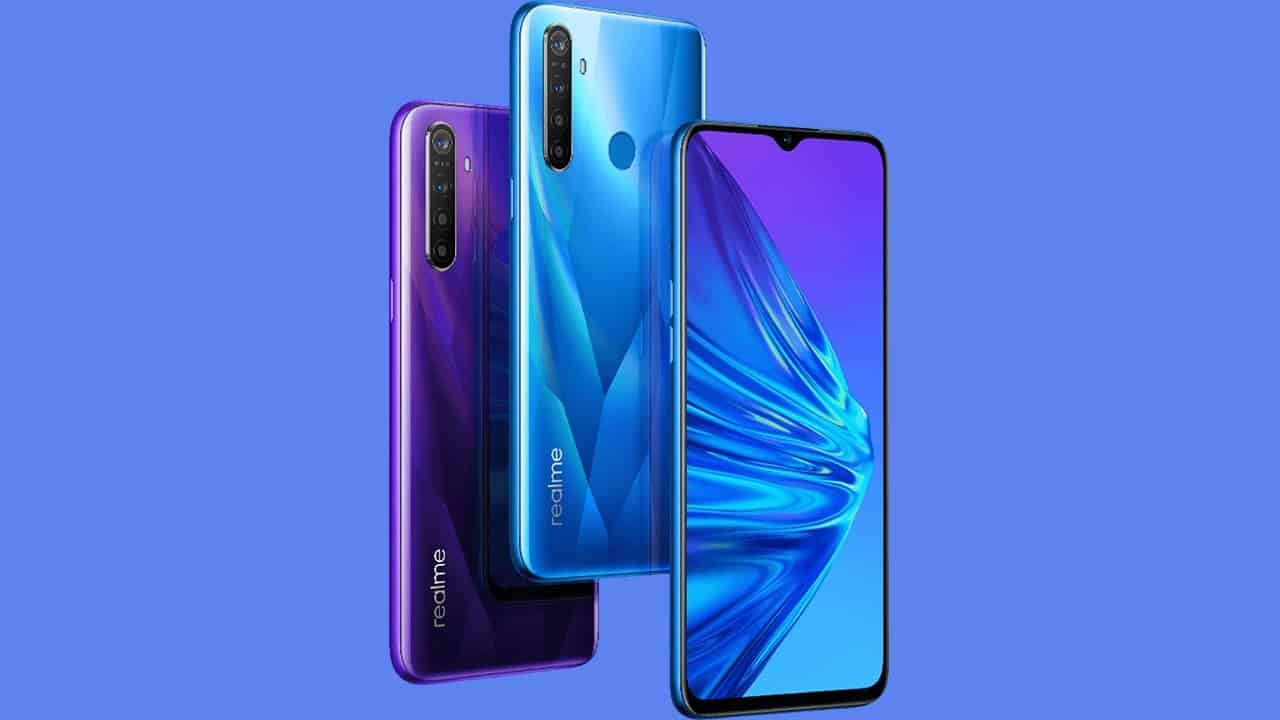 realme UI based on Android 10 rolling out now for realme 5 Pro - Gizchina.com