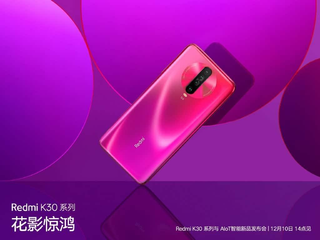 Redmi K30 5G 6GB + 128GGB version gets a good price cut - Gizchina.com