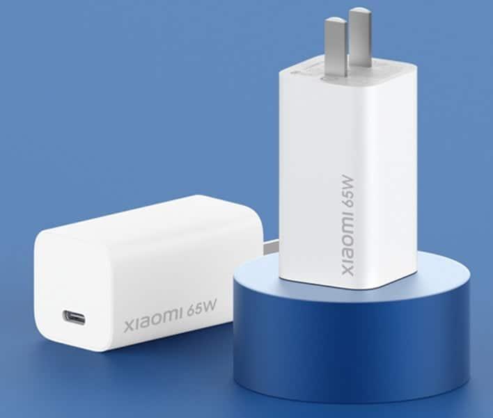 Xiaomi 65W GaN charger