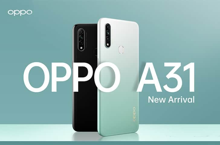 Oppo A31 to Launch in India Next Week, Sale Offers Revealed - Gizchina.com