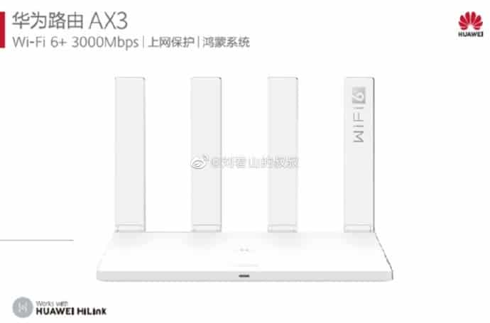Huawei router AX3