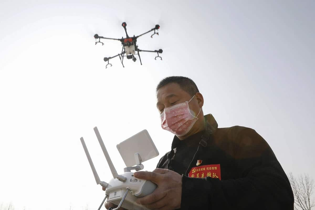 China uses drones to fight Coronavirus - Gizchina.com