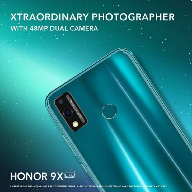 Honor 9X Lite listed online, specifications and price revealed - Gizchina.com