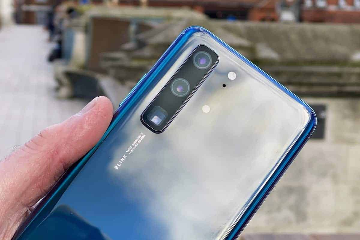 Huawei P40 surfaces in hands-on images ahead of the launch - Gizchina.com