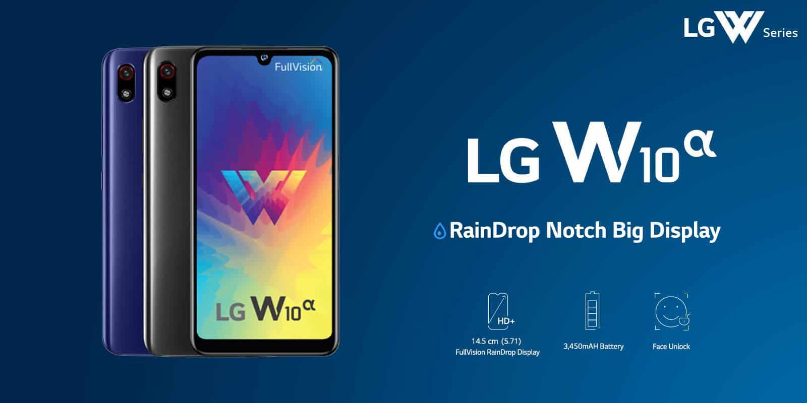 LG W10 Alpha: the cheapest LG mobile is official - Gizchina.com