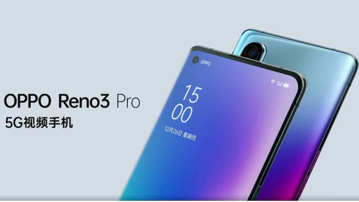 Oppo Reno 3 Pro Pre-Order Kicks Off in India, Promo Offers Revealed - Gizchina.com