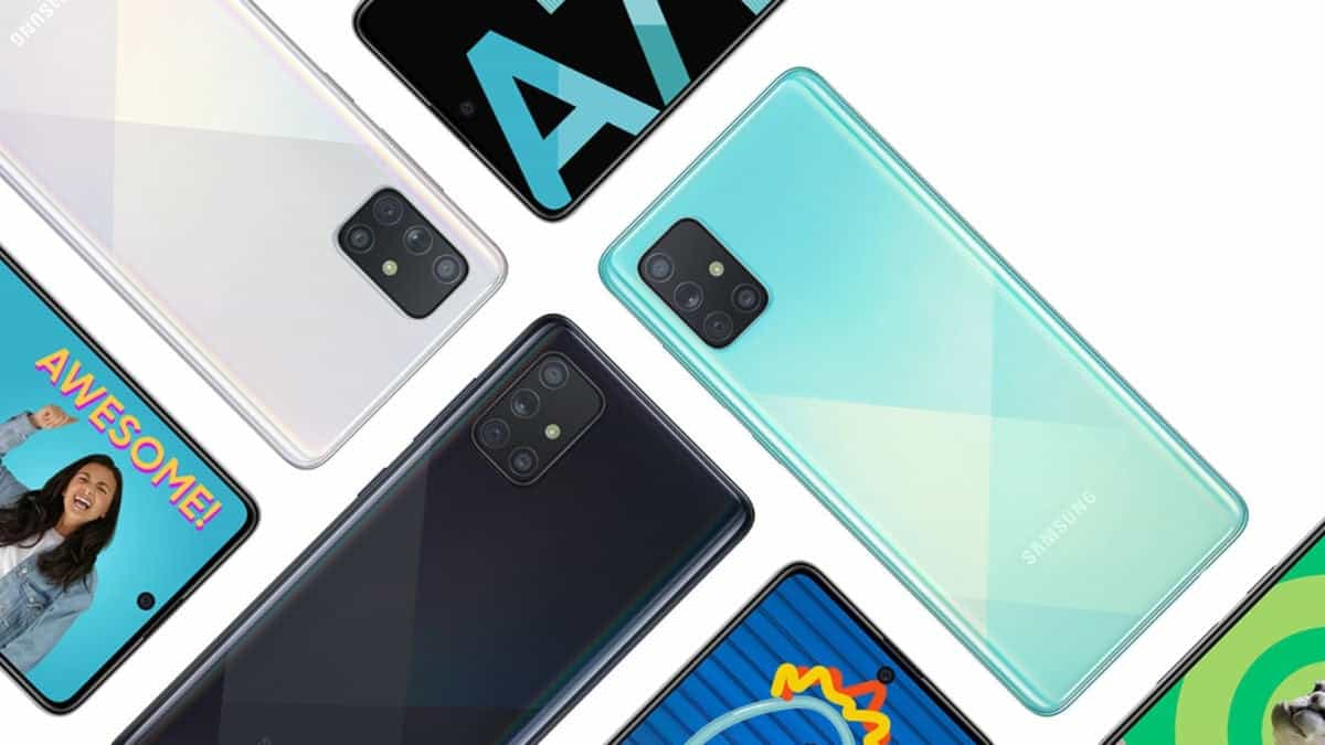 Samsung Launches Galaxy A71 in India with a Price Tag of $420 - Gizchina.com