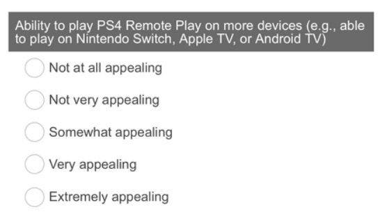Sony survey asks about PS4 Remote Play on Nintendo Switch