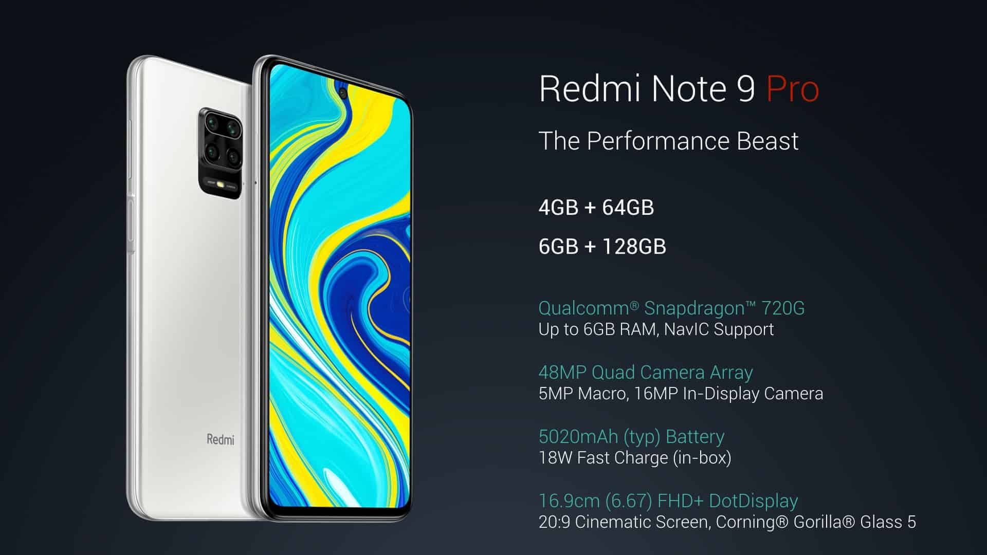Redmi Note 9 Pro Goes Official Gizchina Com