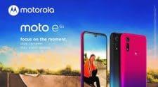Moto E6s 2020