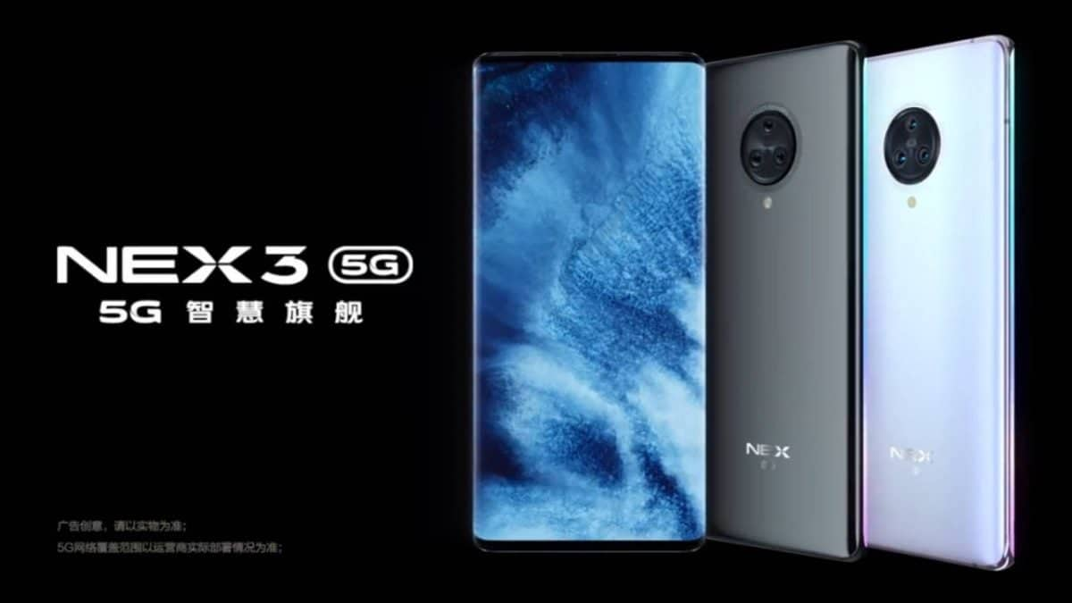 Android 10 update finally arrives Vivo NEX 3 5G - Gizchina.com