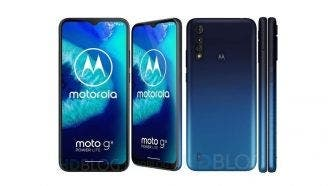 Moto G8 Power Lite new renders