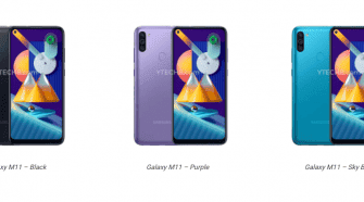 galaxy m11 press renders
