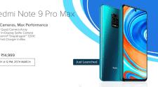 redmi note 9 pro max price