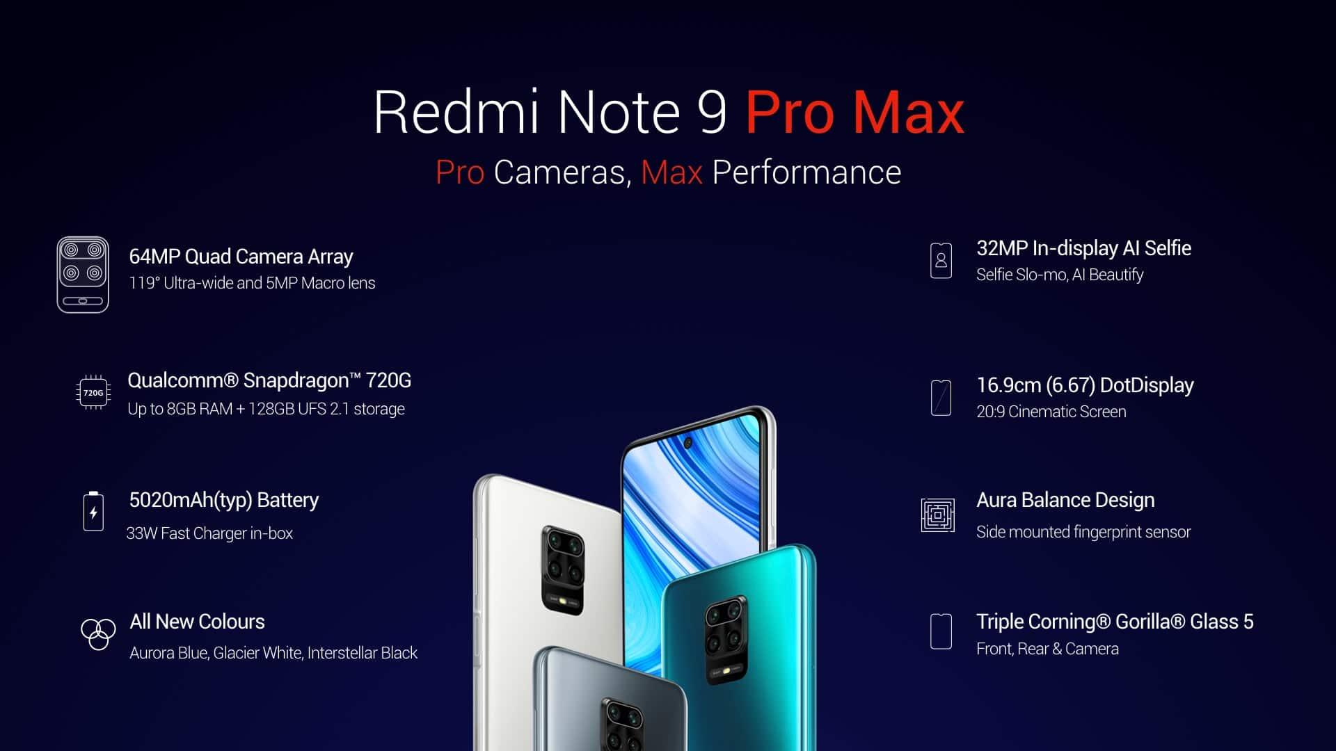 Redmi Note 9 Pro Max Announced Gizchina Com