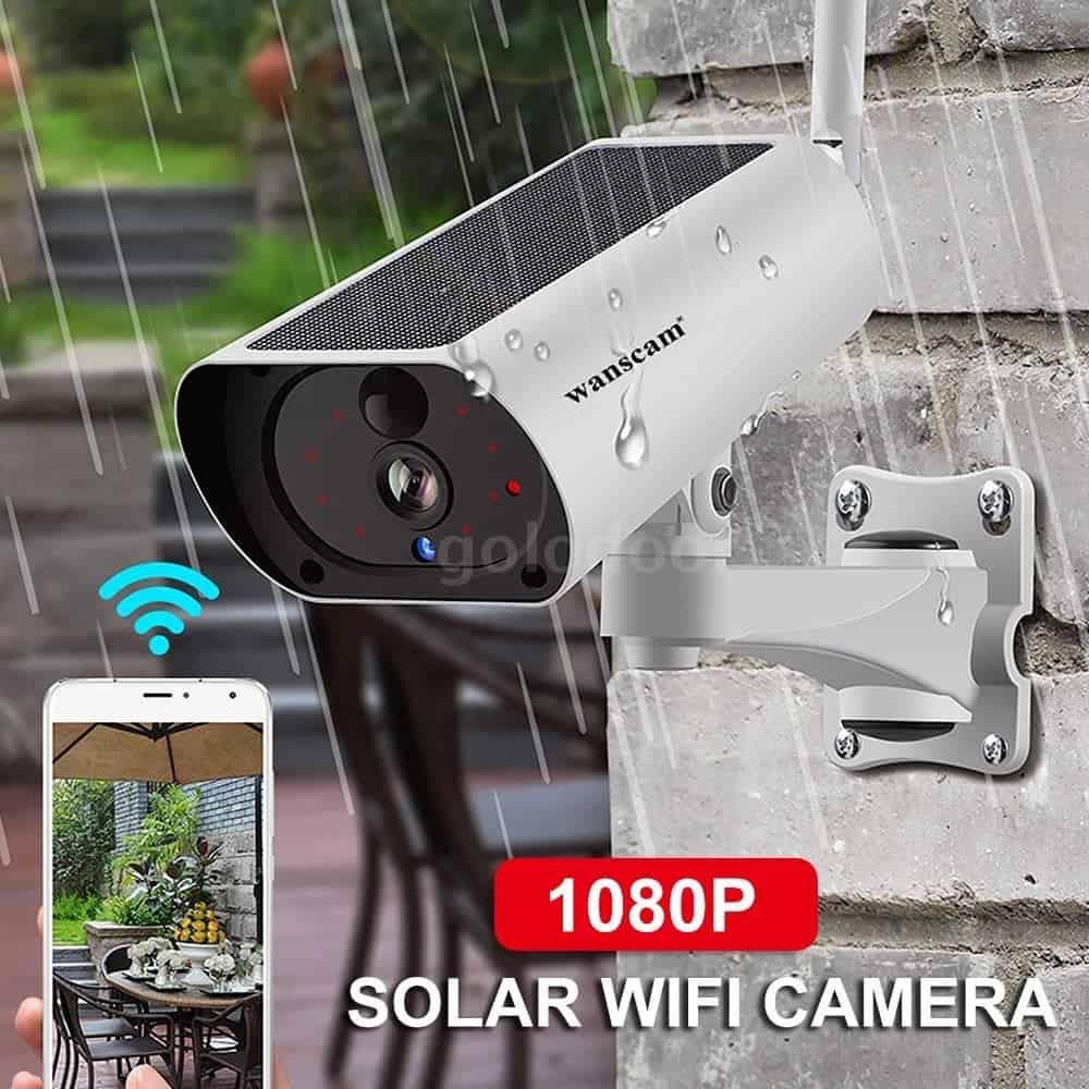 Wanscam 1080P solar IP camera and more discounts from Ebay - Gizchina.com