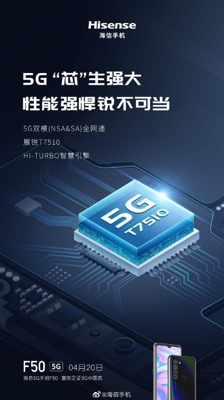 Hisense F50 5G