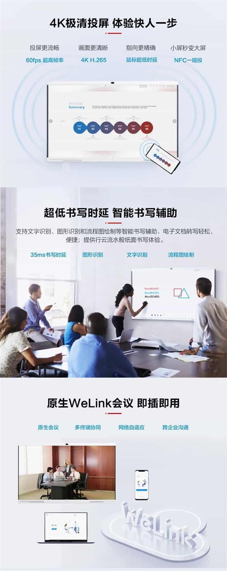 Huawei Enterprise Smart Screen IdeaHub