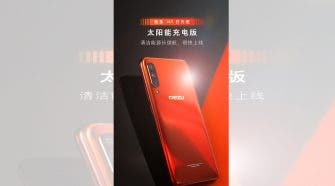 Meizu 16T Orange Solar Charging Edition
