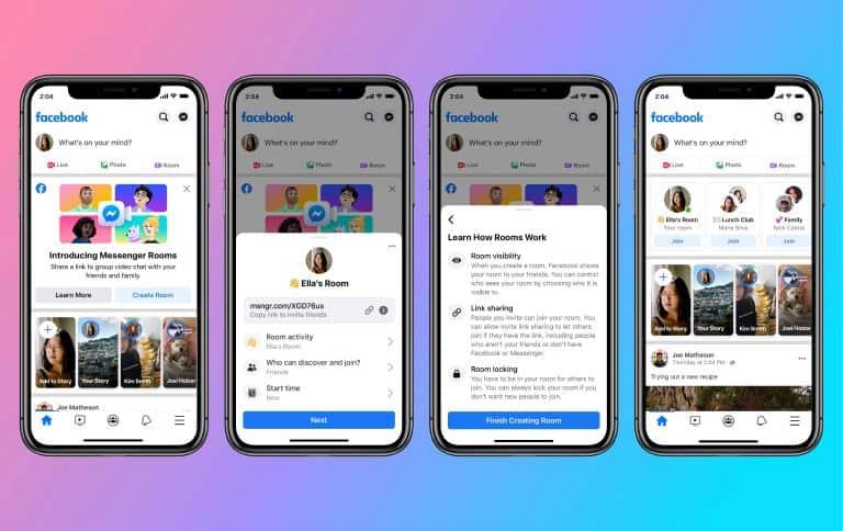 DIGBUSEL - Facebook Perkenalkan Layanan Panggilan Video Grup dengan Messenger Rooms