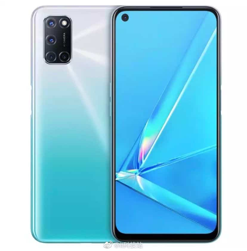 oppo a52 blue