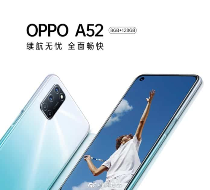 oppo a52 official render
