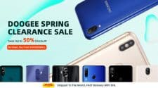 DOOGEE Spring clearance sale