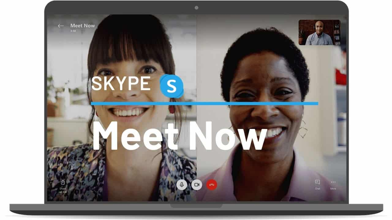 Skype has a Zoom-like video call function called 'Meet Now'