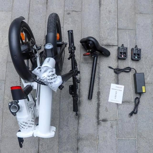 Xiaomi S Himo Z16 Foldable Electric Bike Pictures Surface Online
