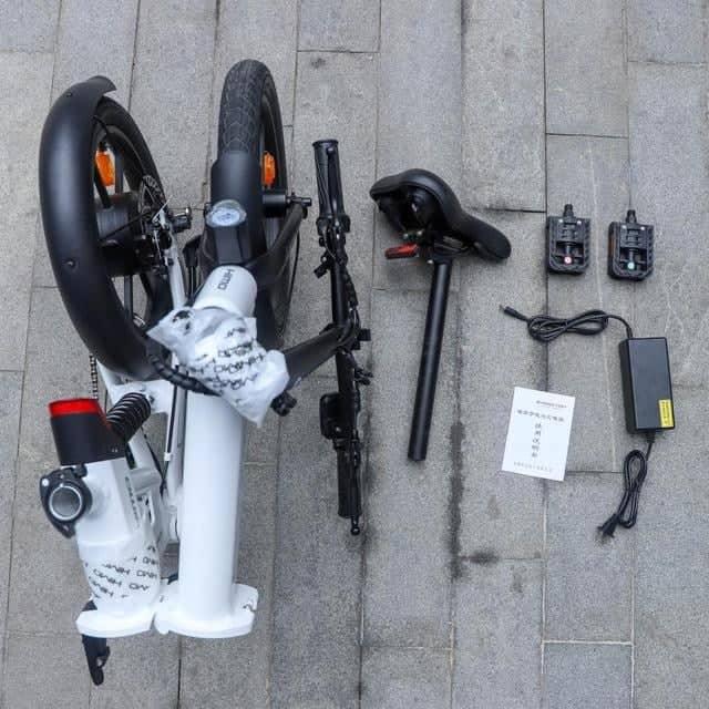 DIGBUSEL - Muncul Di Internet Gambar Sepeda Listrik Himo Z16 Lipat Xiaomi