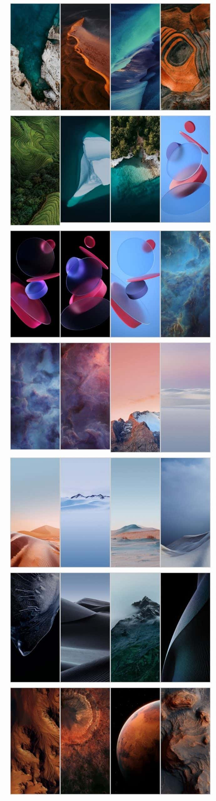 Miui 12 Download The New Wallpapers In Full Resolution Gizchina Com