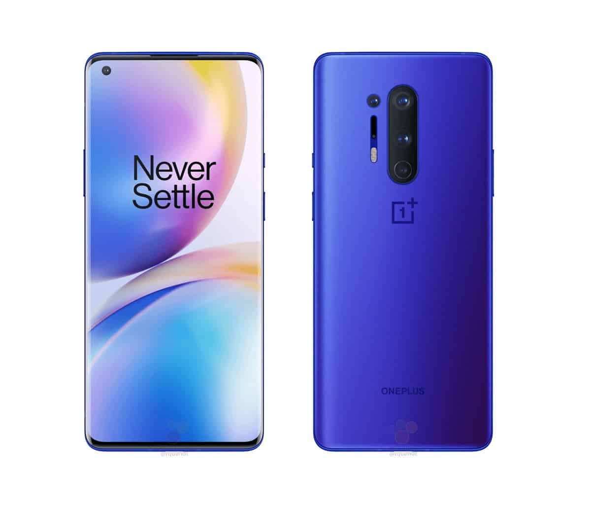 OnePlus 8 Pro leaked renders reveal Ultramarine Blue colour option