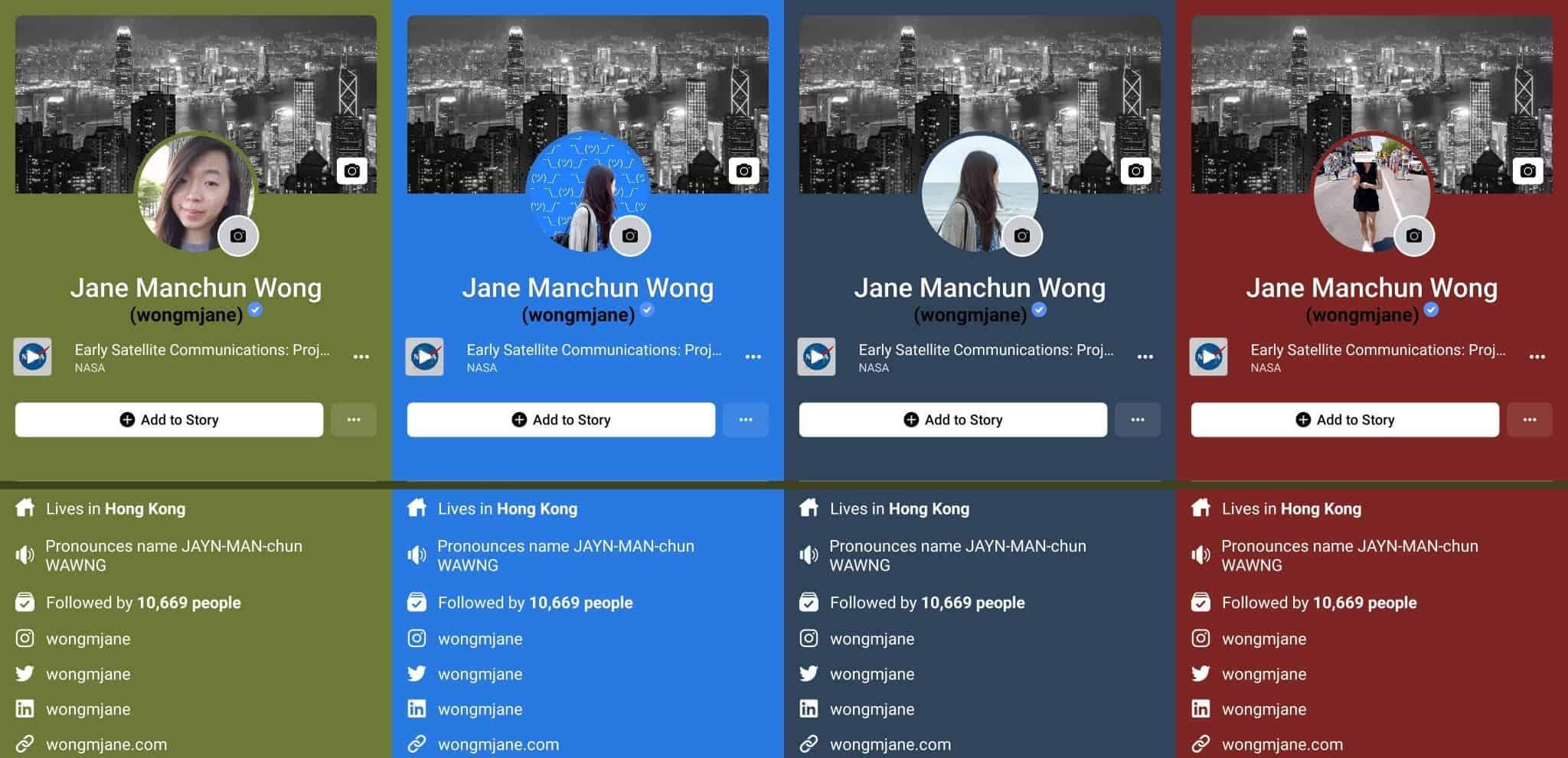 DIGBUSEL - Fitur Baru Facebook App: Warna Adaptif Sebagai Latar Belakang