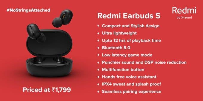 DIGBUSEL - Redmi Earbuds S Dengan Mode Game Diluncurkan