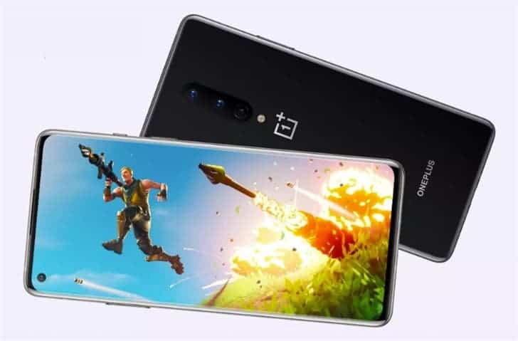 Fortnite for OnePlus 8 series at 90fps Fortnite Android ios