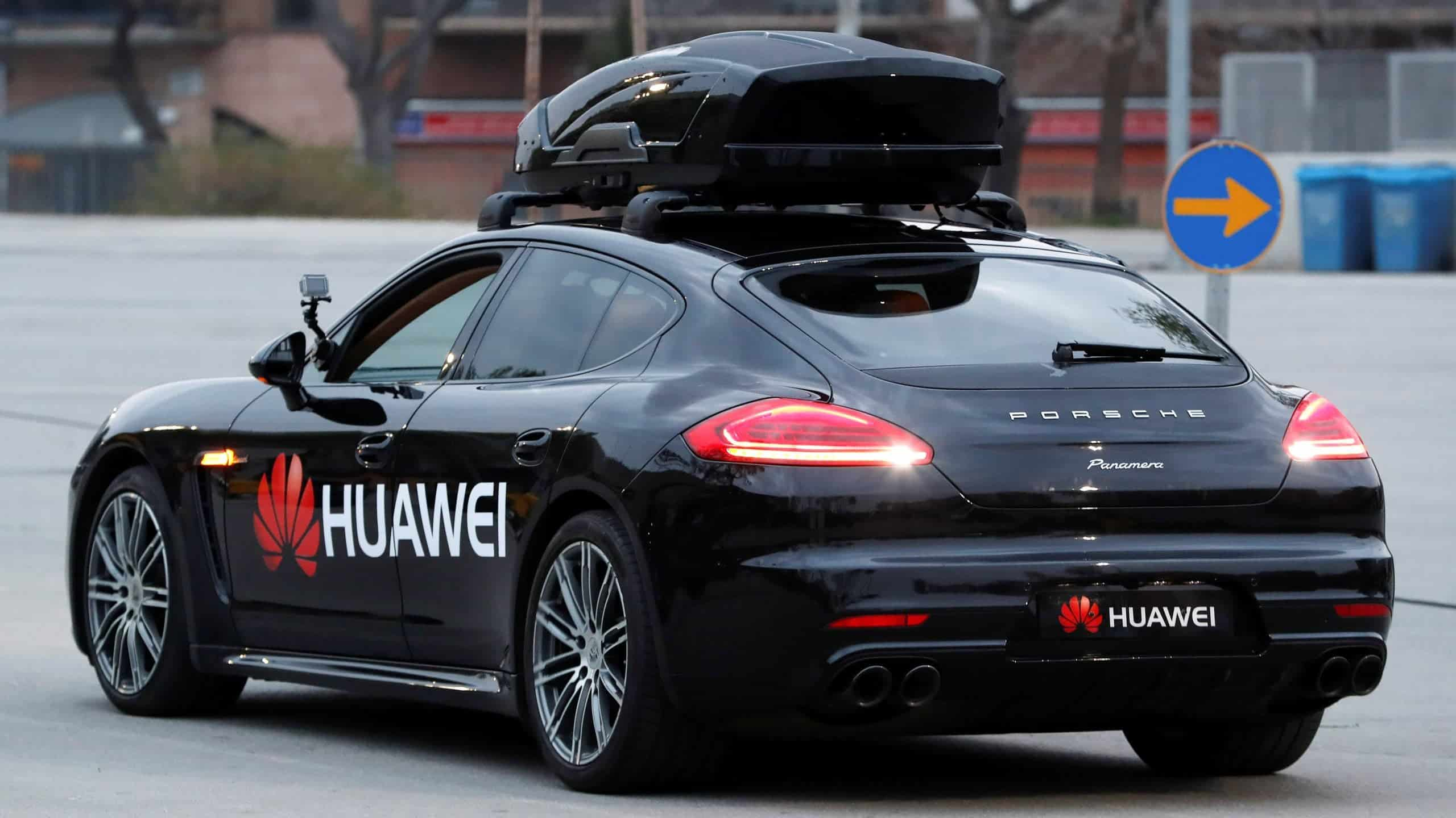 """Huawei and 18 car companies set up a """"5G car ecosystem"""""""