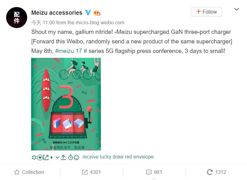 Meizu GaN