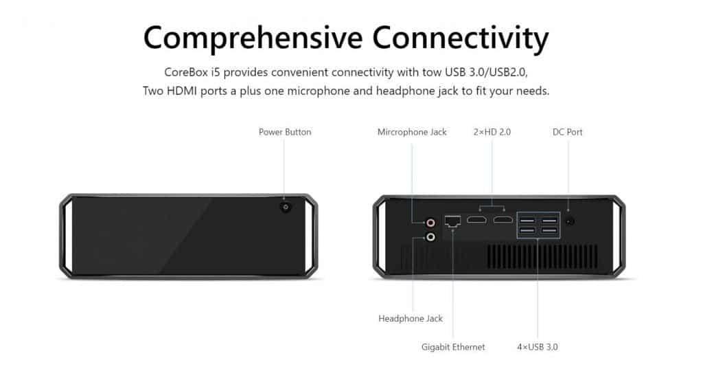 chuwi corebox i5, DIGBUSEL