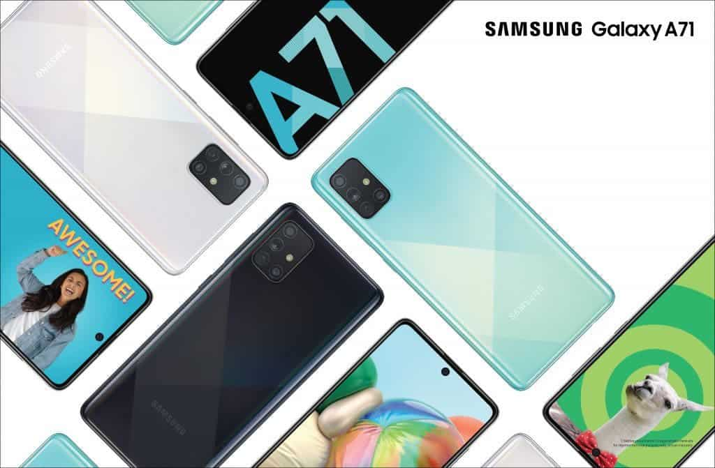 Samsung Galaxy A71 5G Might Launch On Verizon With Snapdragon 765 In The US Samsung Galaxy A71s 5G UW
