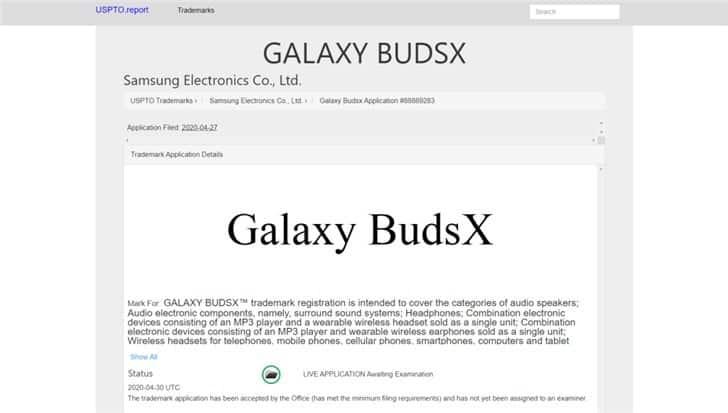 Samsung Galaxy BudsX