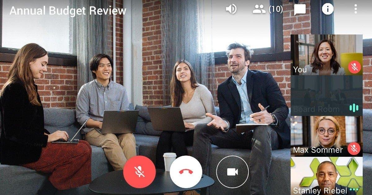 Videoconfrencing google meet