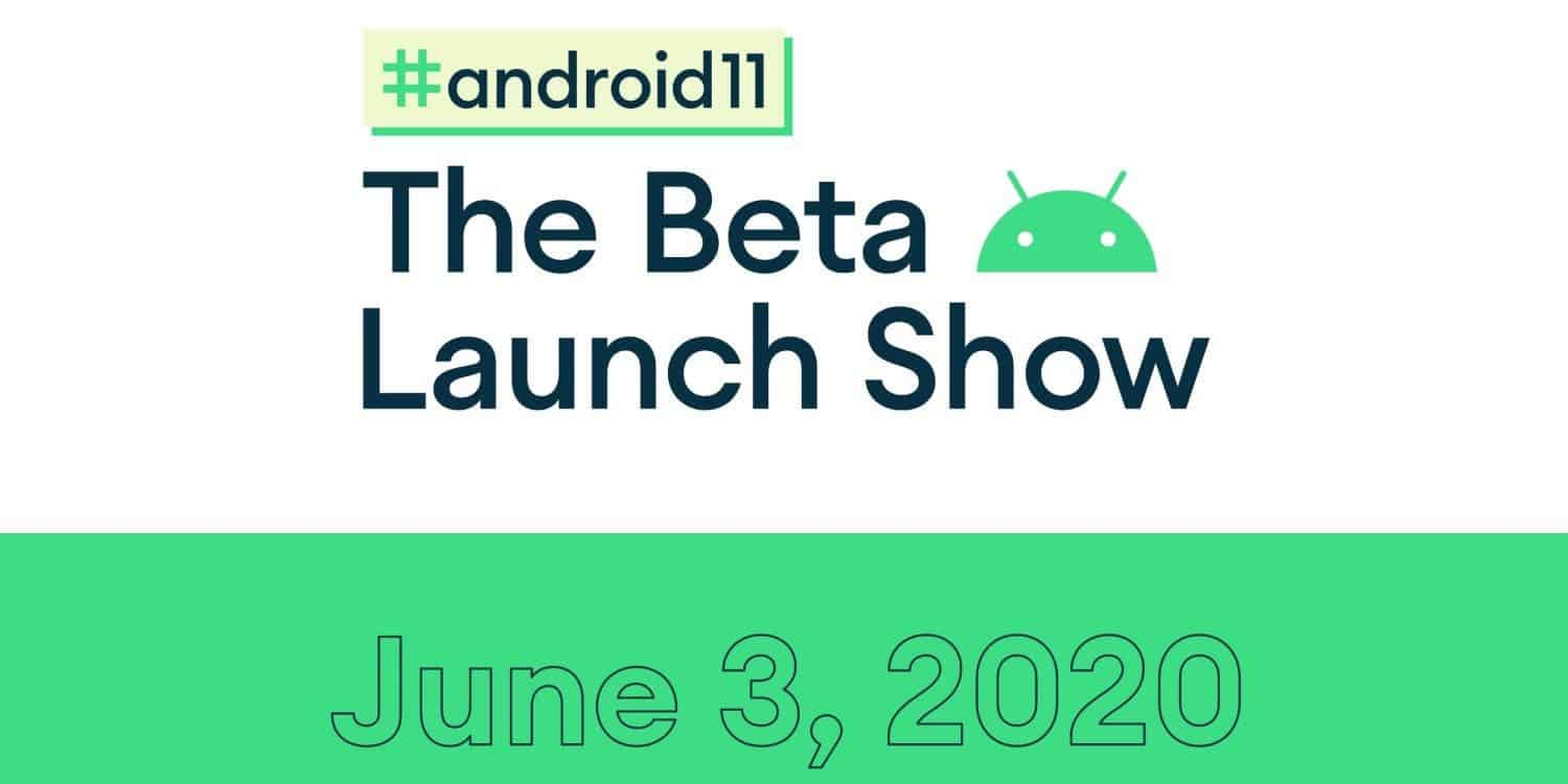 Google Android 11 Beta Launch Show