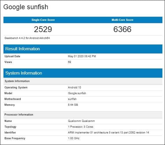 DIGBUSEL - Peluncuran Sudah Dekat Google Pixel 4A Muncul Di Geekbench