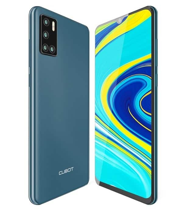 best chinese phones Cubot P40