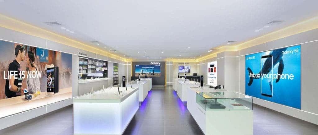 Samsung Exclusive Stores