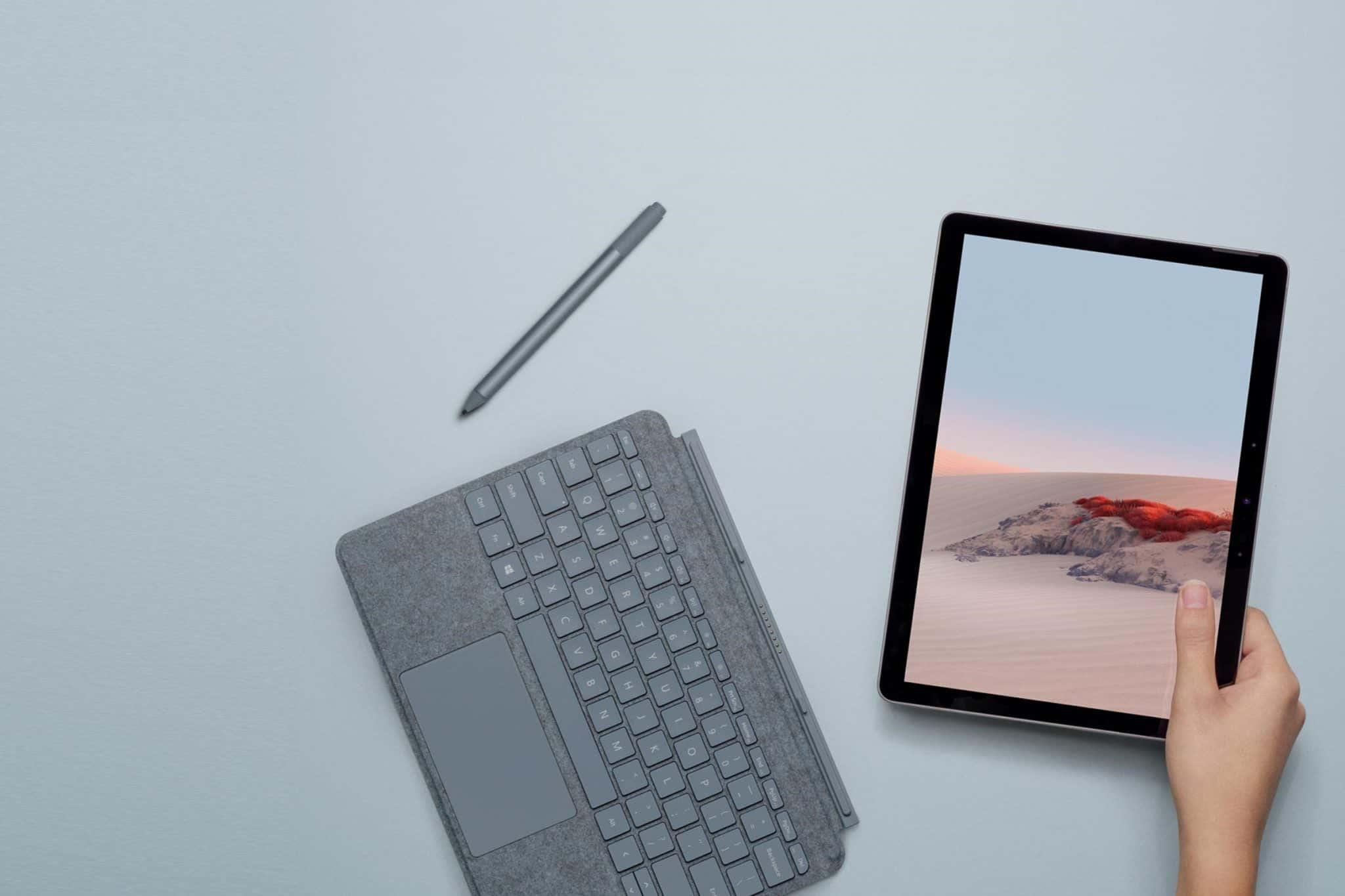 DIGBUSEL - Desain dan Tampilan Surface Go 2: Apa yang berubah?
