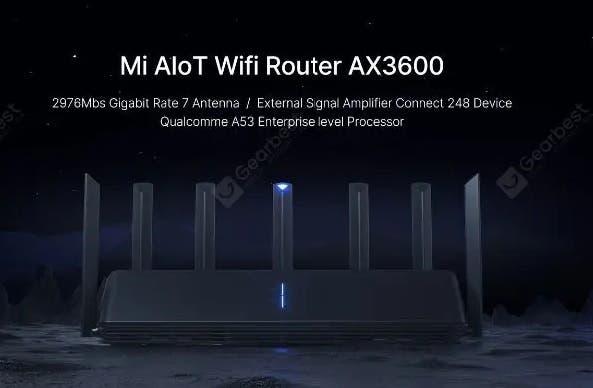DIGBUSEL - Router Wi-Fi 6 Modern Xiaomi MI AIOT Ax3600 Telah Dijual